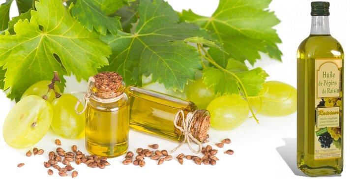 100% panenský hroznový olej