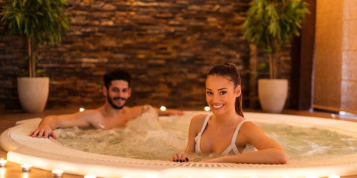 Relaxační wellness pobyt v krásných apartmánech na Šumavě se snídaní pro dva
