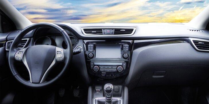 Péče o auto – luxování, ošetření plastů a pneu, dezinfekce ozonem