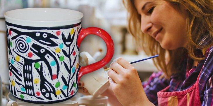Darujte zážitek: poukaz na malování originální keramiky Maříž®