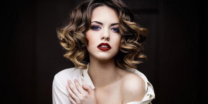 Kadeřnický balíček pro dámy – střih pro všechny délky vlasů
