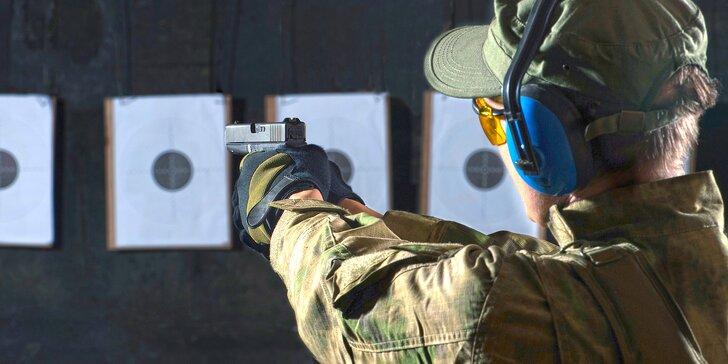 Zmáčkněte spoušť na profesionální střelnici – střelba až ze 12 zbraní