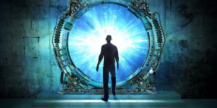 Vzhůru za dobrodružstvím: Úniková hra Portal až pro 4 hráče