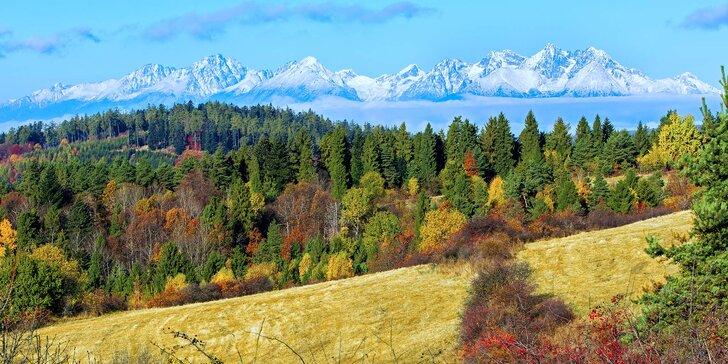 Podzim a zima ve Vysokých Tatrách v nových apartmánech pro dvě osoby