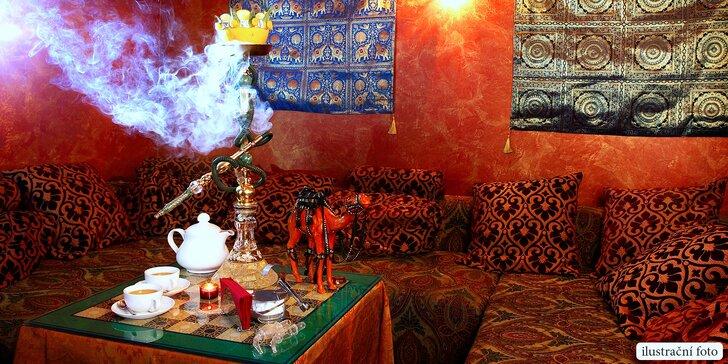 Posezení u dýmky a čaje: otevřený voucher do čajovny Inaris