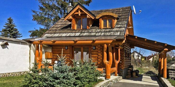 Podzim a zima ve Vysokých Tatrách v romantické dřevěnici