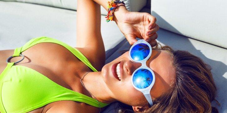 Permanentka na 100 minut opalování v soláriu Top fitness Dubina