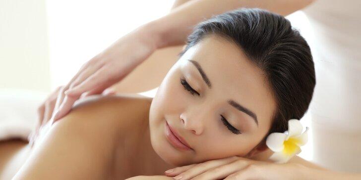 60 minut skutečného blaha: výběr z 5 druhů exotických masáží