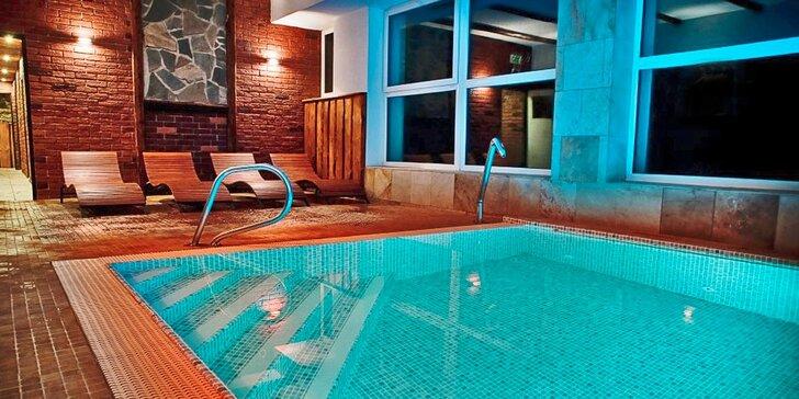 Last minute podzimní relaxace ve všedních dnech - bazén, saunový svět i masáž