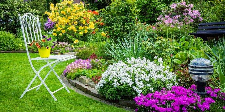 Okolí domu jako ze žurnálu - návrh na realizaci zahrady