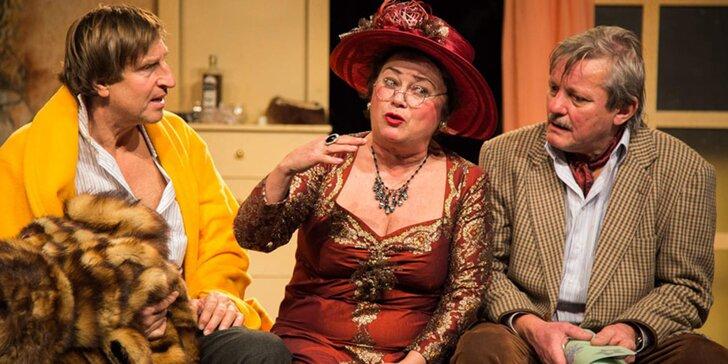 Vstupenka do divadla: Komedie s kriminální příchutí Rukojmí bez rizika