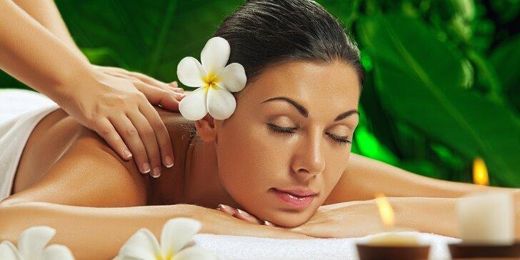 Zažijte pohádkový relax: výběr ze 4 druhů 60minutových masáží