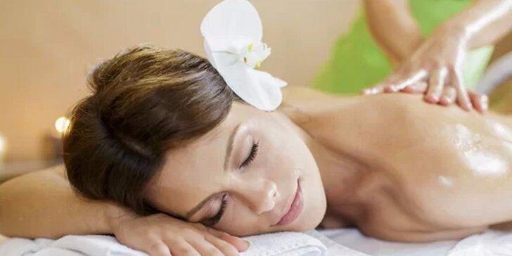 Výjimečná masáž s detoxikační maskou pro výjimečnou ženu