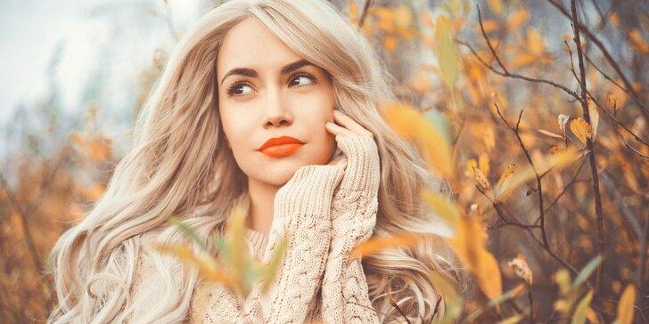 Kombinované barvení s kreativním střihem pro všechny délky vlasů