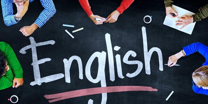 Intenzivní víkendový kurz angličtiny zaměřený na konverzaci a poslech