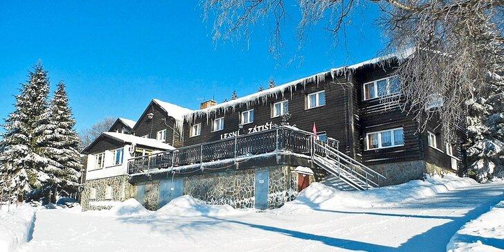 3-7denní lyžovačka v Krkonoších s polopenzí a dalšími slevami