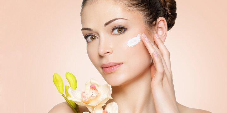 Kosmetické ošetření pleti: čištění a relaxace s masáží obličeje