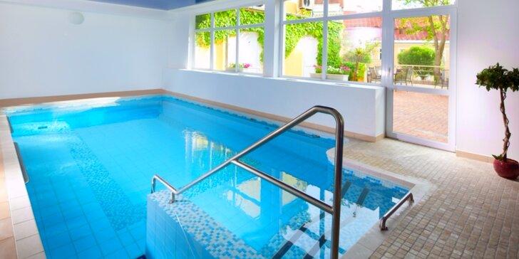 4 nebo 8 dní v lázních s procedurami, polopenzí a volným vstupem do bazénu