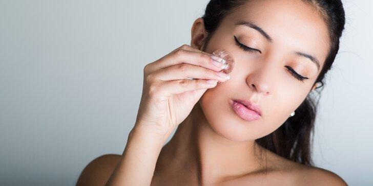 Kompletní kosmetické ošetření mastné a aknetické pleti