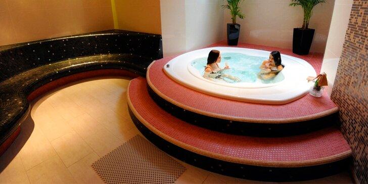 Romantické 2 hodiny v privátním wellness hotelu Avanti**** pro dva