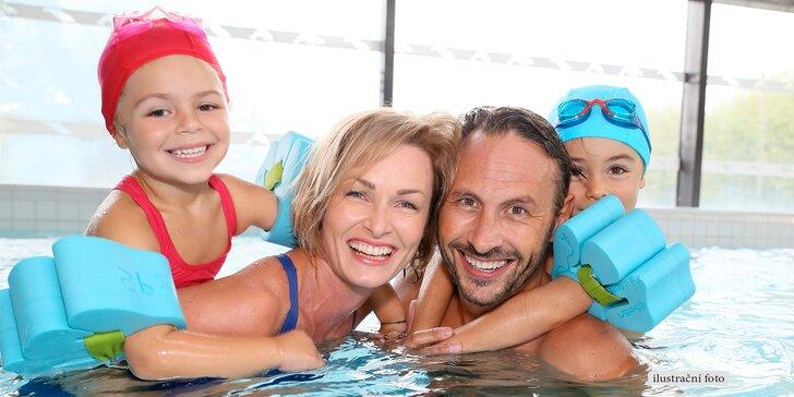 Zkroťte vlny vyškovského aquaparku - vstup na 180 minut pro děti i dospělé