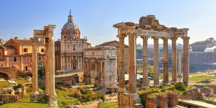 Italské putování: Řím, Florencie a Pisa s ubytováním a snídaní