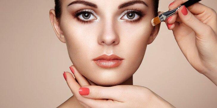 Kosmetická péče o řasy, obočí a oční okolí dle vašeho výběru