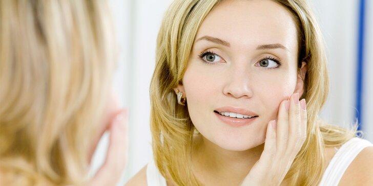 70minutová kosmetická relaxace: regenerační nebo čistící péče