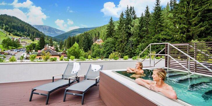 Božský pobyt v Peci pod Sněžkou: Moderní hotel s wellness a slevy na zážitky