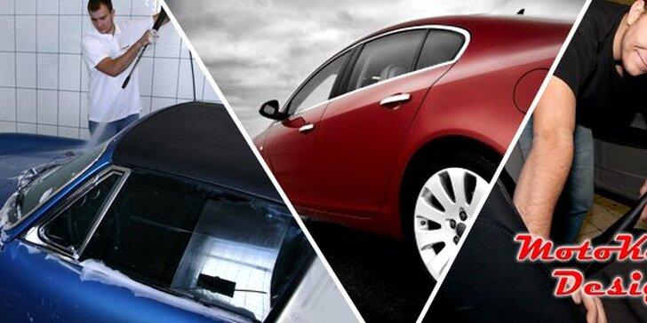 249 Kč za ruční mytí a očistu vašeho automobilu. Komplexní příprava vozu na dovolenou se 74% slevou jen v Motokenny Design!