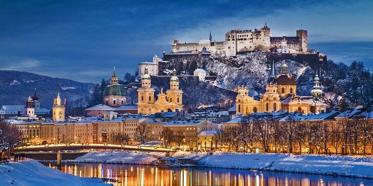 Zažijte advent jako z pohádky na trzích v rakouském Salzburgu