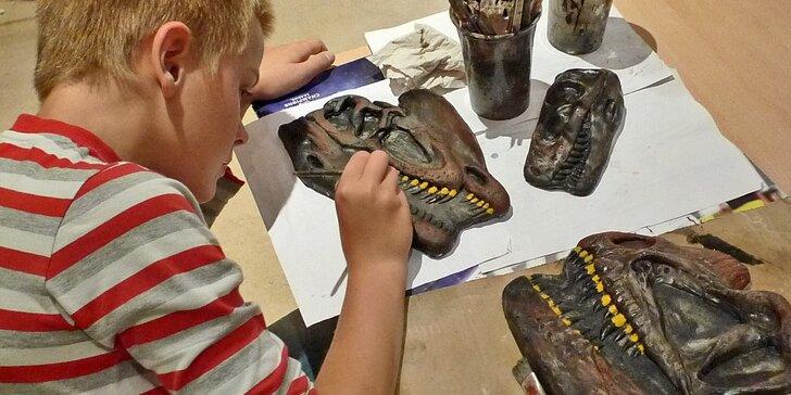Úžasné tvůrčí odpoledne v Triloparku aneb Vytvořte si vlastního dinosaura