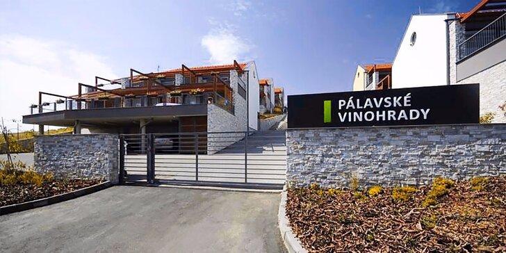 Dovolená mezi vinicemi: 3–4 dny v luxusních apartmánech na Pálavě
