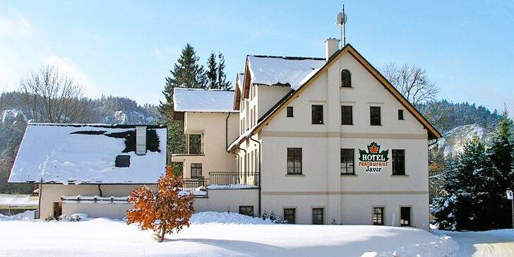 Aktivní zimní odpočinek v kouzelném Adršpachu pro dva