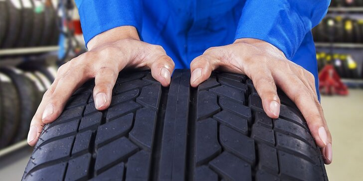 Přezutí na poslední chvíli - Výměna pneumatik včetně vyvážení