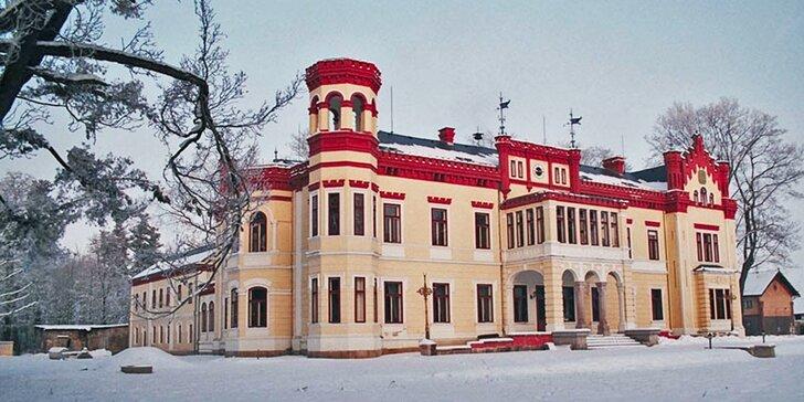 Odpočinek na zámku Mostov s polopenzí a neomezeným wellness