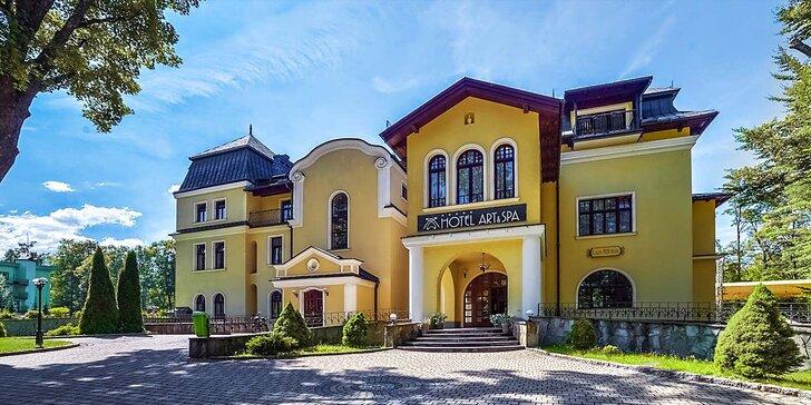Skvostný 4* wellness pobyt s bohatou snídaní v nedalekém Polsku
