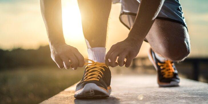 Speciální sportovní vložky na míru s analýzou chodidel