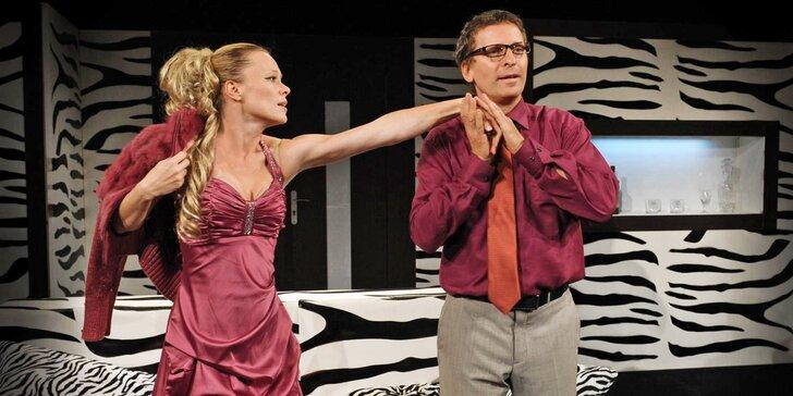 Divadlo Palace: Vstupné na představení dle výběru pro 2 osoby