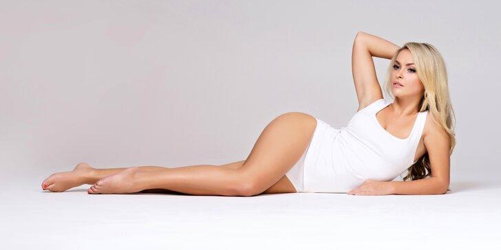Brazilská depilace intimních partí vč. třísel cukrovou pastou
