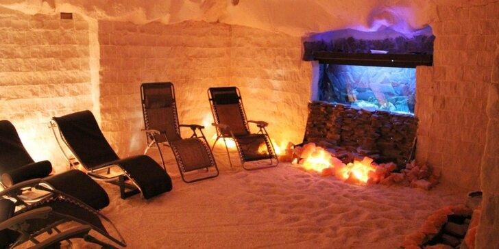Blahodárný odpočinek v solno-jodové jeskyni