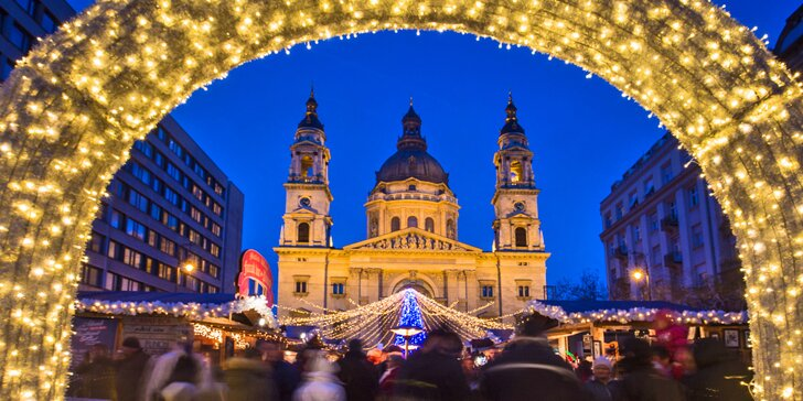 Vychutnejte si magickou atmosféru adventní Budapešti
