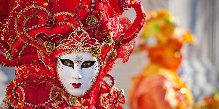 Proslulý karneval v romantických Benátkách vč. ubytování se snídaní