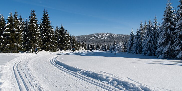 3-6 denní zimní dovolená v Bedřichově s chutnou polopenzí pro dva