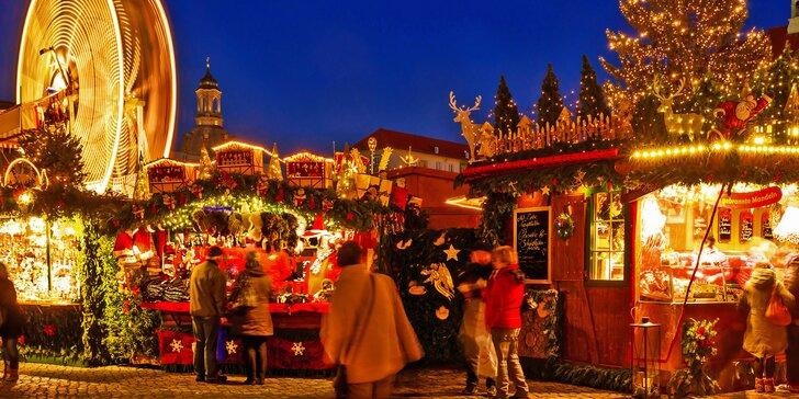 Výlet na nejstarší německý vánoční trh: drážďanský Štrýclmarkt