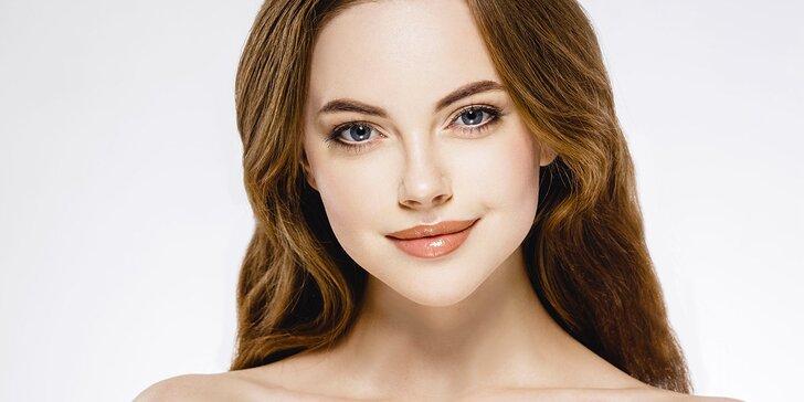 70minutový balíček hloubkové kosmetické péče s masáží