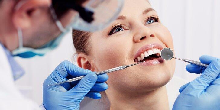 Dentální hygiena pro zářivě krásný úsměv s AirFlow či bez