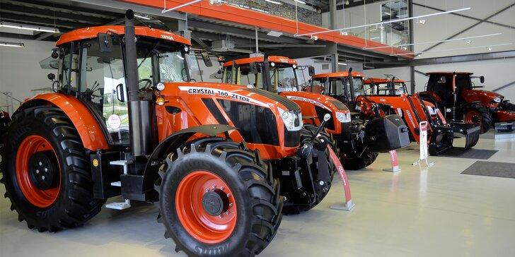 Vstupenka do světa traktorů v Zetor Gallery pro jednoho i celou rodinu