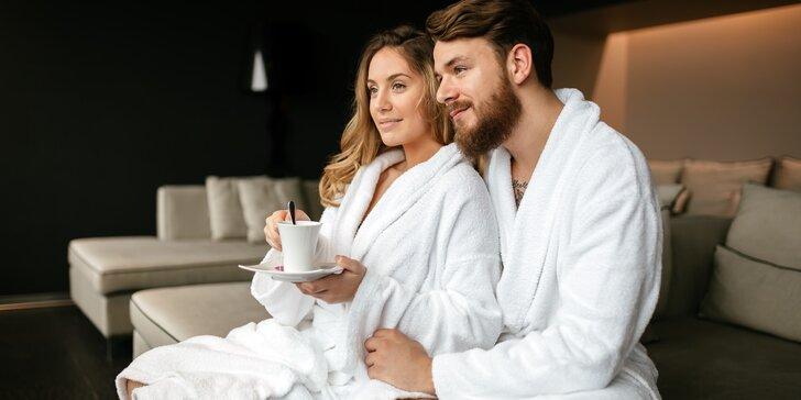 Romantika pro dva: 2-3 noci v hotelu Amálka vč. privátního wellness