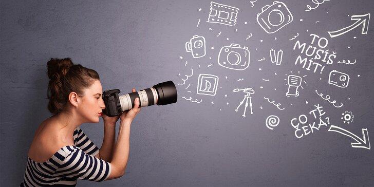 Naučte se vidět svět skrze objektiv - Individuální kurz fotografování
